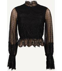 na-kd blouse zwart 1018-004728