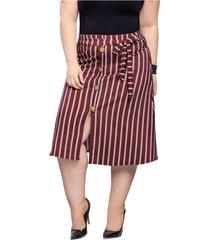 falda corta para mujer estampado mp