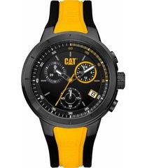 reloj amarillo t8 chrono