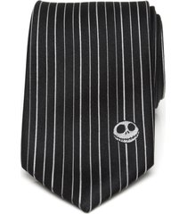 men's cufflinks, inc. nightmare before christmas silk tie, size one size - black