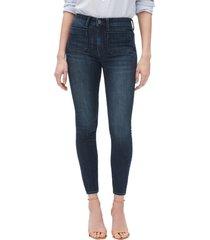 jeans legging ankle tiro alto mujer azul gap