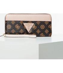 duży portfel z logo model kamryn