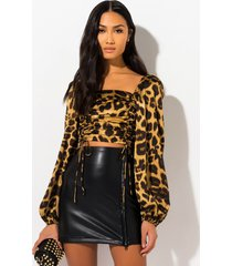 akira behind me stretch pleather mini skirt