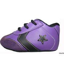 zapatilla violeta piojito