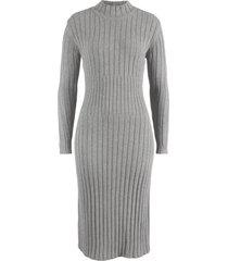 abito midi in maglia (grigio) - bpc bonprix collection