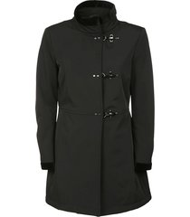 fay funnel neck coat