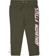 stella mccartney logo print tracksuit pants