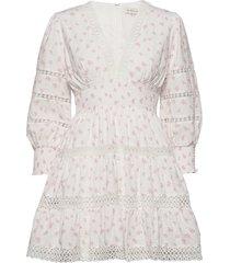 inez dress kort klänning rosa by malina