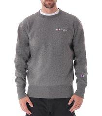 reverse weave sweatshirt - grey 213603-gahm