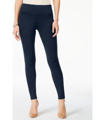inc petite curvy-fit ponte-knit pants, created for macy's
