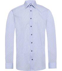 poplin skjorta business blå eton