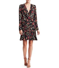 haven silk floral dress