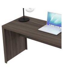 mesa para escritório reta me4109 carvalho tecno mobili