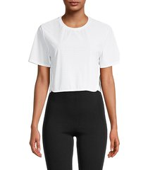 track cropped t-shirt
