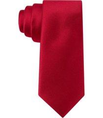 tommy hilfiger twill solid tie, big boys