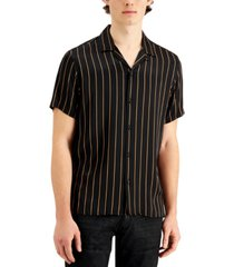 inc men's vertical stripe shirt, created for macy's