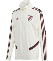 buzo blanco adidas river plate warm top 2020