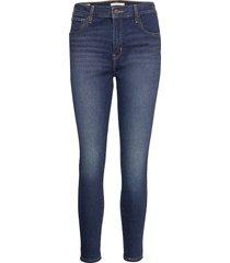 720 hirise super skinny high l skinny jeans blå levi´s women
