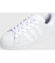tenis lifestyle blanco adidas originals superstar,