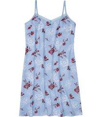 camicia da notte con spalline (blu) - bpc bonprix collection