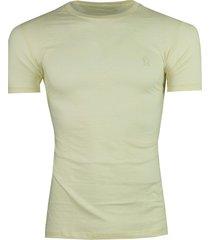 camisa tshirt rutra pima 3d lisa creme - branco - masculino - algodã£o - dafiti