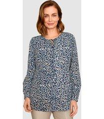 blouse paola ijsblauw::marine::kit