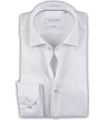 thomas maine heren overhemd wit twill tailored ml7