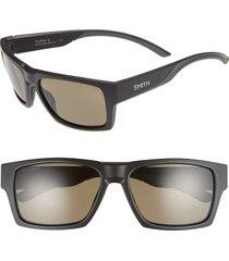 women's smith outlier 2 57mm chromapop(tm) polarized square sunglasses -