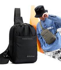 nylon outdoor crossbody borsa cassa multiforme casual borsa per uomo
