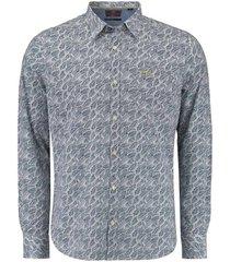 overhemd catlins donkerblauw