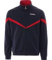 diadora offside track jacket   blue   176080-60065