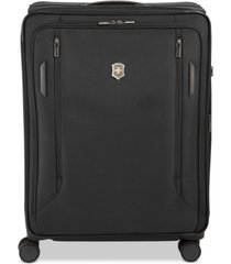 """victorinox swiss army vx avenue 31"""" extra-large expandable softside spinner suitcase"""
