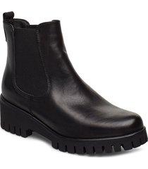 woms boots stövletter chelsea boot svart tamaris