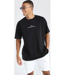 pride isn't just a party oversized t-shirt, black