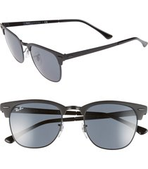 men's ray-ban icons 51mm browline sunglasses -