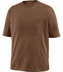 wolverine men's knox short sleeve tee (big & tall) bison heather, size 4x