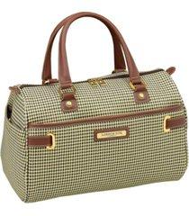 "london fog oxford ii softside 16"" satchel luggage, created for macy's"