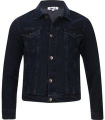 chaqueta jean hombre color azul, talla s