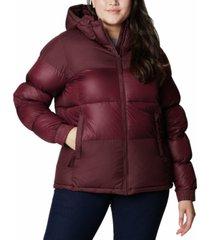columbia plus size pike lake ii hooded jacket