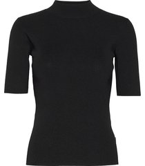 5181 - della t-shirts & tops knitted t-shirts/tops svart sand