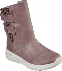 bota  on-the-go joy - sweater weat rosa skechers