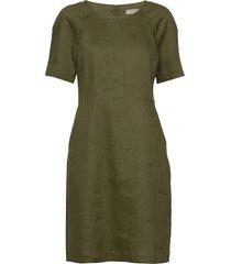 dress short sleeve kort klänning grön noa noa