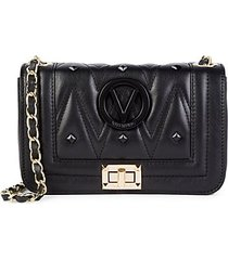 beatriz sauvage studded leather crossbody bag