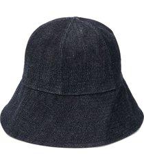 jil sander denim bucket hat - blue