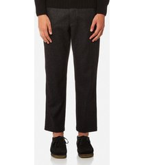 ymc men's hand me down trousers - black - w36 - black