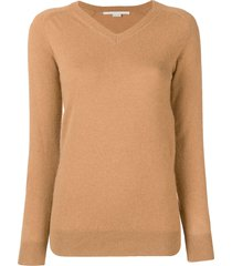 stella mccartney v-neck pullover - neutrals