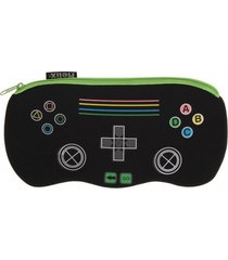 """helix """"game controller"""" pencil case neoprene single pocket case by helix"""