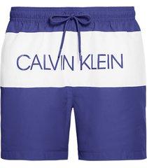 calvin klein heren zwembroek logo - blauw-m