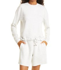 ted baker london lounge sweatshirt, size 4 in ivory at nordstrom