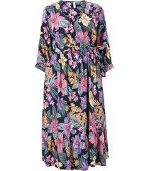 maxiklänning yaslio 3/4 midi wrap dress